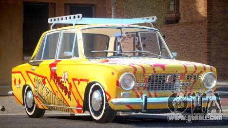 VAZ 2101 BR PJ4 for GTA 4