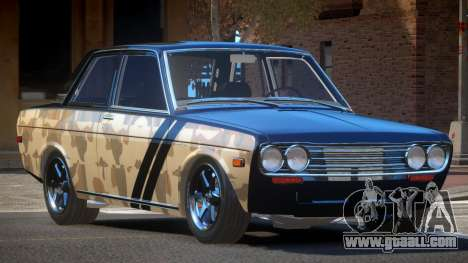 1972 Datsun Bluebird 510 PJ1 for GTA 4