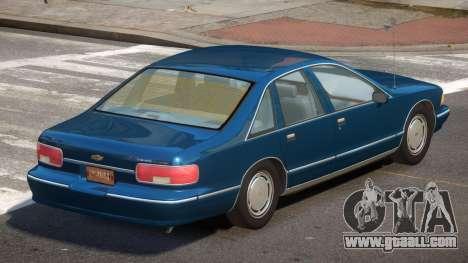 Chevrolet Caprice ML for GTA 4