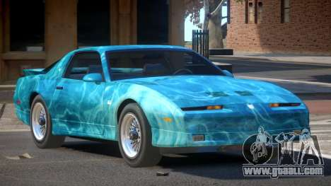 1991 Pontiac Firebird PJ1 for GTA 4