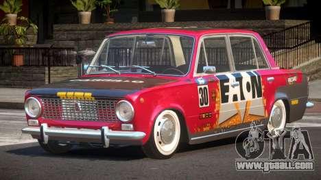 VAZ 2101 BR PJ1 for GTA 4