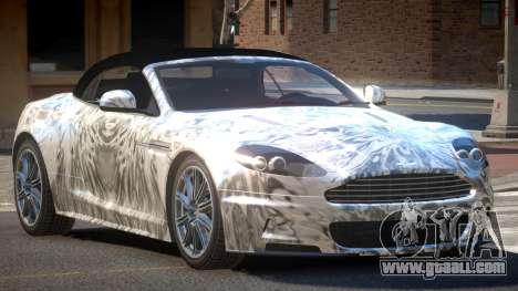 Aston Martin DBS Volante SR PJ2 for GTA 4