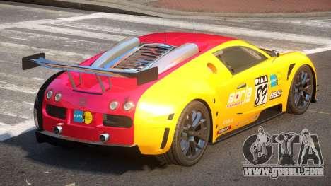 Bugatti Veyron SR 16.4 PJ6 for GTA 4