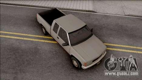 GMC Sierra 1998 Grey for GTA San Andreas