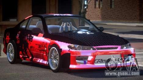 Nissan Silvia S15 M-Sport PJ3 for GTA 4