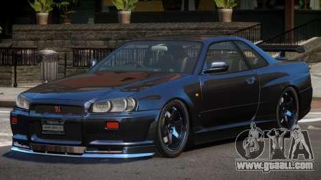 Nissan Skyline R34 SPE for GTA 4