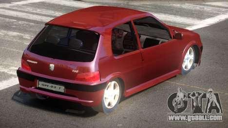 Peugeot 106 LT for GTA 4