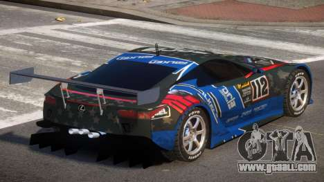 Lexus LFA R-Style PJ5 for GTA 4
