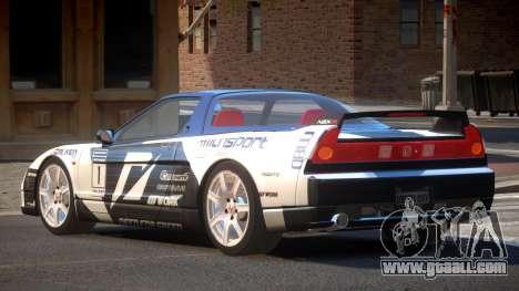 Honda NSX Racing Edition PJ6 for GTA 4