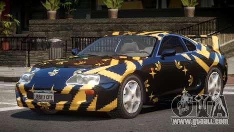 Toyota Supra G-Style PJ3 for GTA 4