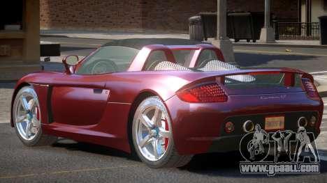 Porsche Carrera GT-SR for GTA 4