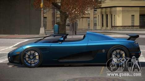 Koenigsegg CCXR D-Tuned for GTA 4