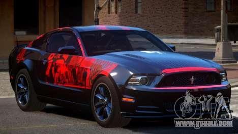 Ford Mustang 302 MS PJ2 for GTA 4