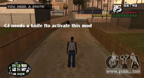 Kingsglaive CJ for GTA San Andreas