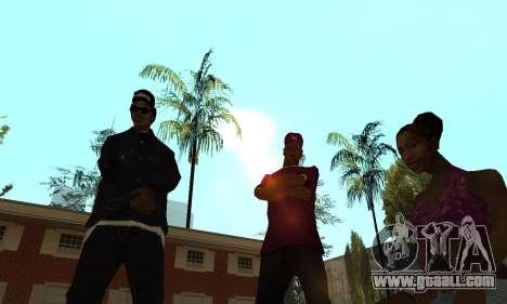 Ballas 4 Life v1.1 for GTA San Andreas