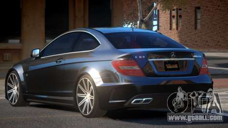Mercedes Benz C63 A-Style for GTA 4