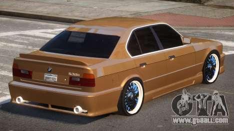 BMW M5 E34 SR for GTA 4