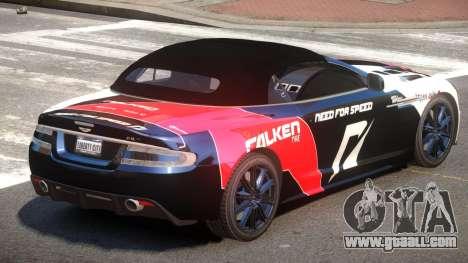 Aston Martin DBS Volante SR PJ3 for GTA 4