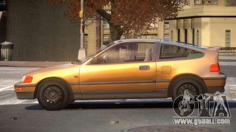 1994 Honda CRX V1.3 for GTA 4