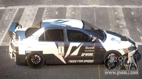 Mitsubisi Lancer IX SR PJ1 for GTA 4