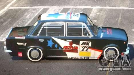 VAZ 2101 BR PJ3 for GTA 4