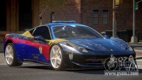 Ferrari 458 SR Police for GTA 4