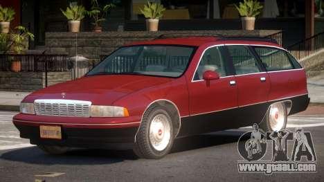 Chevrolet Caprice CL for GTA 4