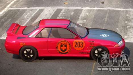 Nissan Skyline R32 V-Style PJ6 for GTA 4
