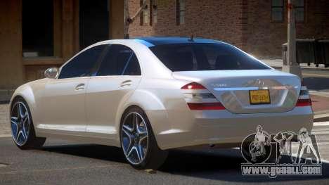 Mercedes Benz S500 LT for GTA 4