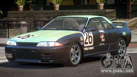 Nissan Skyline R32 V-Style PJ5 for GTA 4