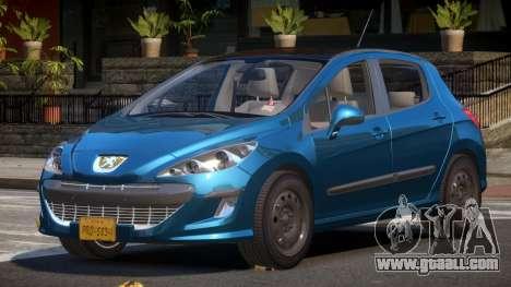 Peugeot 308 RT V1.1 for GTA 4