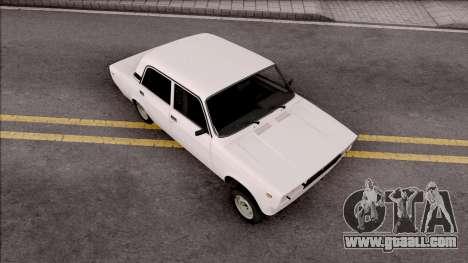 Sade VAZ 2105 Salon Vuruq Style for GTA San Andreas