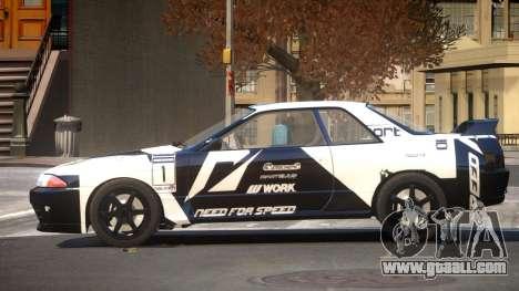 Nissan Skyline R32 V-Style PJ2 for GTA 4