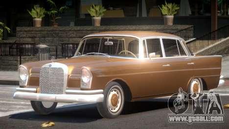 Mercedes Benz W111 V1.0 for GTA 4