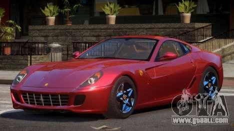 Ferrari 599 GTB SR for GTA 4