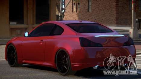 Infiniti G37 S-Tuned for GTA 4
