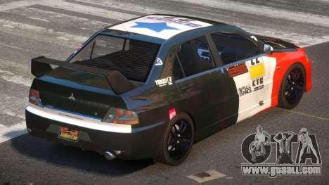 Mitsubisi Lancer IX SR PJ4 for GTA 4