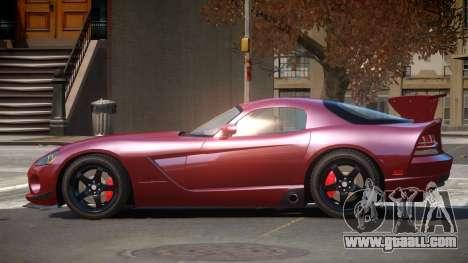 Dodge Viper SRT M-Sport for GTA 4