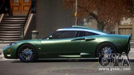 Spyker C8 TR for GTA 4