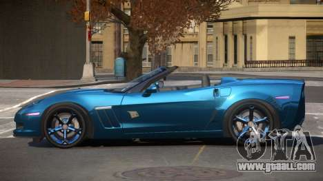 Chevrolet Corvette C6 GS for GTA 4