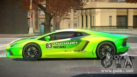 Lamborghini Aventador G-Tuned PJ4 for GTA 4