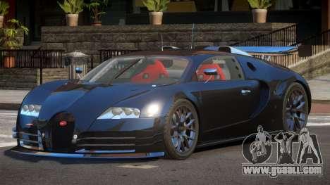 Bugatti Veyron 16.4 R-Tuning for GTA 4