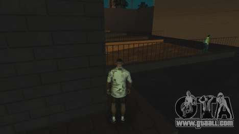 The Ghost of the murdered girl for GTA San Andreas