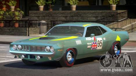 1969 Plymouth Cuda GT PJ1 for GTA 4