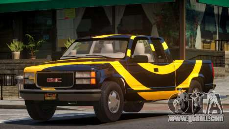 1992 GMC Sierra PJ3 for GTA 4