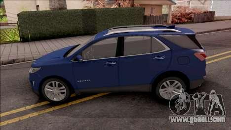 Chevrolet Equinox 2020 for GTA San Andreas