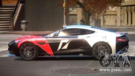 Aston Martin Vanquish LT PJ6 for GTA 4