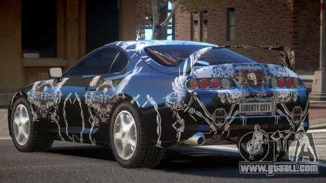 Toyota Supra G-Style PJ5 for GTA 4