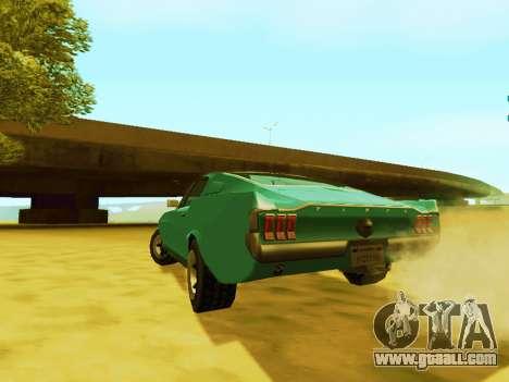 Ford Mustang 1970 (SA Style) for GTA San Andreas