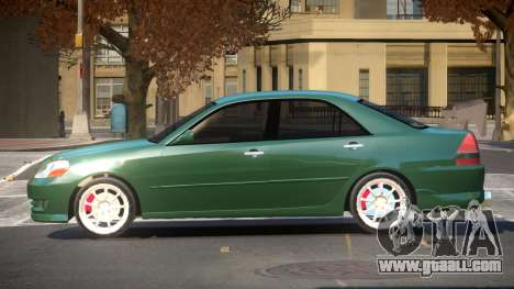 Toyota JZX110 LT for GTA 4